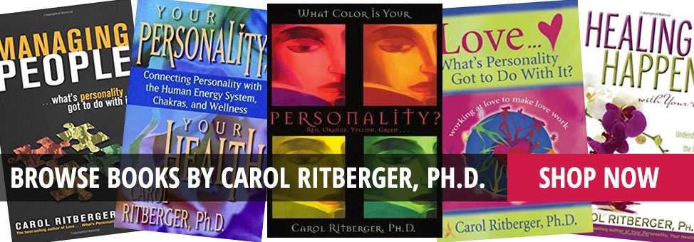 Shop Books by Carol Ritberger, Ph.D.
