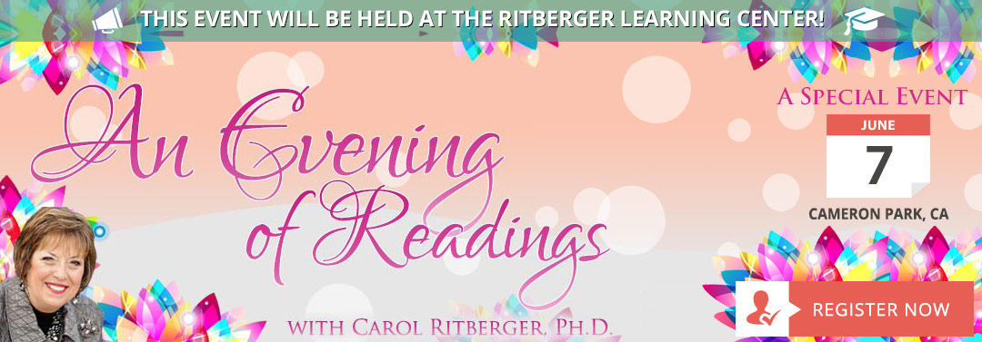 Experience an Evening of Readings with Carol Ritberger
