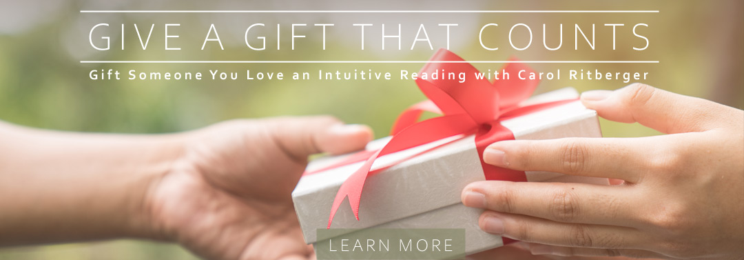 Give the gift of a Reading with Carol Ritberger
