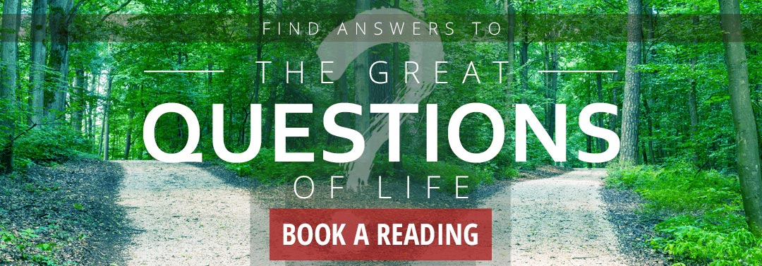 Looking for Answers to Life's Questions? Books a Reading with Carol